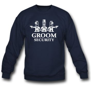 Groom Security Cartoon sweatshirt