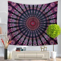 Mandala Tapestry Printed Wall Hanging Tapestries Indian Bedspread Table Cloth Bohemian Beach Throw Hippie Towel Blanketa