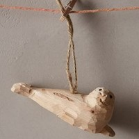 Polar Roamer Ornament by Anthropologie Neutral