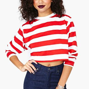Where's Waldo Crop Top