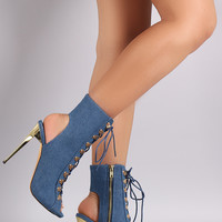 Lace Her Up Heel