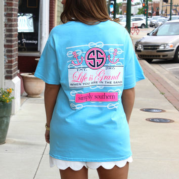 Preppy Grand Tee - Simply Southern Collection