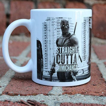 Deadpool | Straight outta Chimichanga | Marvel Comics | Mug