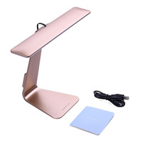 New fashion Eye-Protection Portable Desk Lamp Ultra-thin with 28 LED,3 Level Table Lamp of Brightness Night Light Mac Style