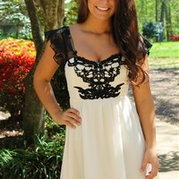 Queen City Dress in Ivory