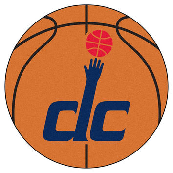 Washington Wizards NBA Basketball Mat (29 diameter)