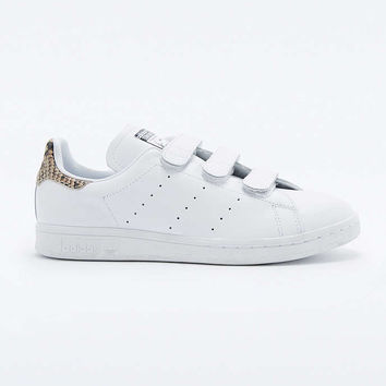 adidas Originals White Snake Velcro Stan Smith Trainers - Urban Outfitters