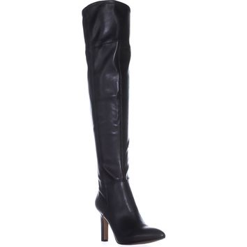Franco Sarto Katie Over-the-Knee Boots, Black, 5.5 US / 35.5 EU