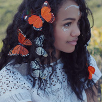 Butterfly Hair Clips – Wild & Free Jewelry