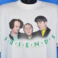 90s Three Stooges Friends TV Show Spoof t-shirt Large