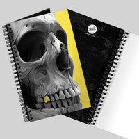 'Golden' Skull Journal by Spilla