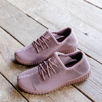 Reckless Mesh Sneaker, Mauve