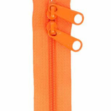 Handbag Zipper 30 inches Pumpkin Double Slide