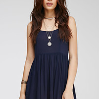 Shirred Gauze Cami Dress - NEW ARRIVALS - 2000116177 - Forever 21 UK