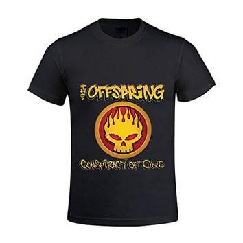 The Offspring Conspiracy Of One Mens T Shirt Round Neck 100 Cotton
