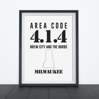 Milwaukee Metro Area Code 414