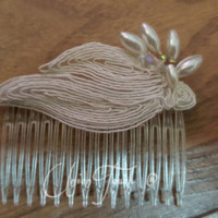 lace Hair,Wedding Head Piece,Feather Hair Clip,Great Gatsby Style,Bridal Comb,Bridal Hair Accessory,Wedding Hair Clip,Feather Hair Clip