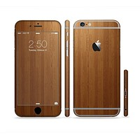 The Straight WoodGrain Sectioned Skin Series for the Apple iPhone6s Plus