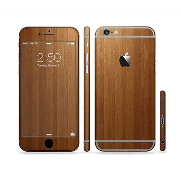 The Straight WoodGrain Sectioned Skin Series for the Apple iPhone 6s Plus