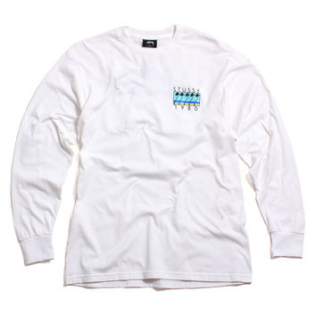 Boardwalk Longsleeve T-Shirt White