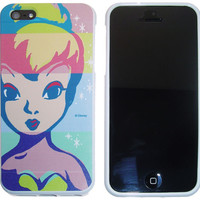 iPhone 5 Tinkerbell Fairy Pop Art Disney Protector Flexible Silicone Cover Case