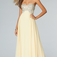 Floor Length Strapless Sweetheart JVN by Jovani Dress