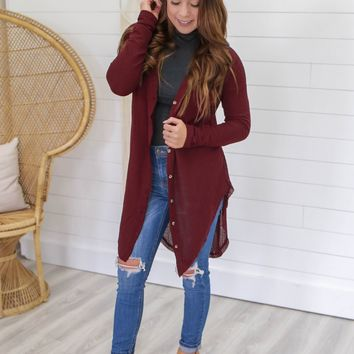 All In Fall Cardigan