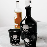 For Him - Over The Hill Skeleton Decanter & Glasses