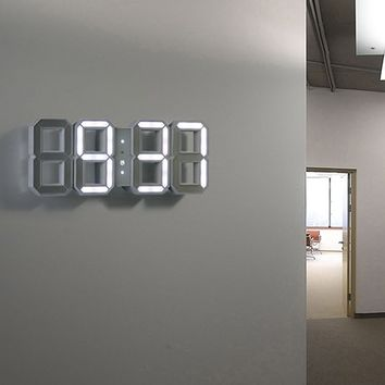LED Wall Clock - White -10%