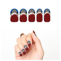 Jaws  - Nail Wraps (Set of 22)