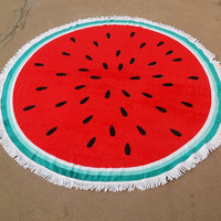 Bohemian Round Beach Tapestry Hippie Throw Yoga Mat Towel Roundie 150cm Diameter