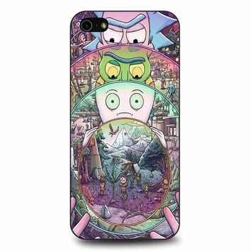 Rick And Morty iPhone 5/5s/SE Case