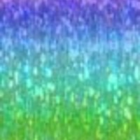"Hair Flairs Pro Hair Tinsel - 100 Strands, 36"", Sparkle Kaleidoscope"