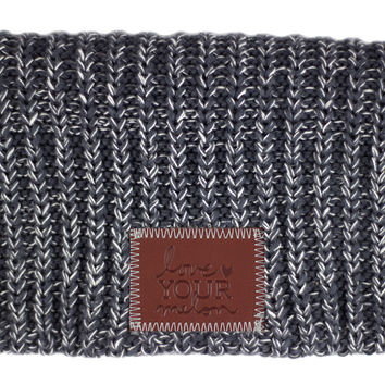 Charcoal and White Speckled Beanie | Love Your Melon