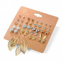 20 Pair Earring Set