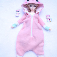 Kawaii ball jointed dolls MSD 1/4 Unikitty cat kigurumi (Onesuit)