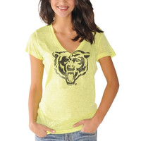 Chicago Bears Touch by Alyssa Milano Women's Look At Me Burnout T-Shirt – Neon Green