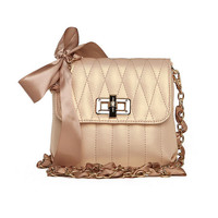 Pretty Bows Bag with Chain Strap — FashionForever