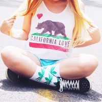 California Love Crop Tank Top