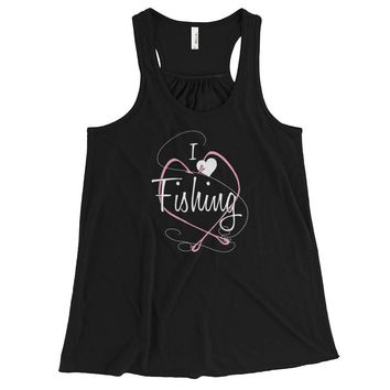 I Love Fishing - Tank Top