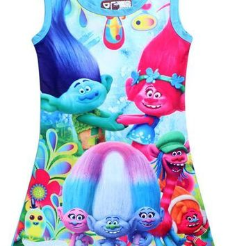Girls Trolls Baby Girls Dress