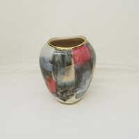 West German Mid Century Vase, Porcelain West German Small Vase, UK Seller