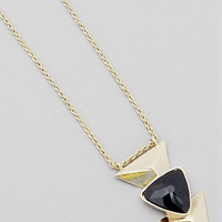 Triangle Shaped Long Necklace