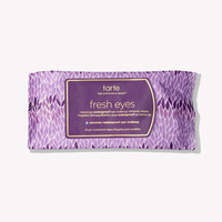 Fresh Eyes Maracuja Waterproof Eye Makeup Remover Wipes | Tarte Cosmetics