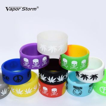 5pcs/10pcs Vape Band For Mechanical Mod 18650 22mm Mod