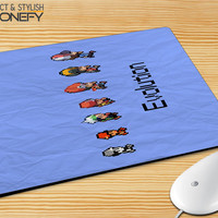Paper Pokemon Evolution Mousepad Mouse Pad|iPhonefy