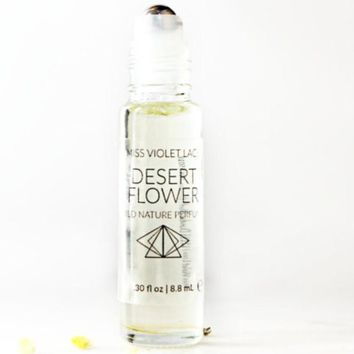 Miss Violet Lace Desert Flower Wild Nature Perfume