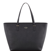 cedar street harmony tote bag, black - kate spade new york