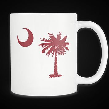 Palmetto Moon South Carolina Mug Garnet