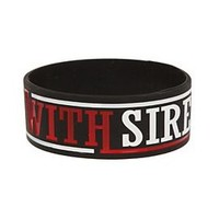 Sleeping With Sirens Rubber Bracelet - 10011893